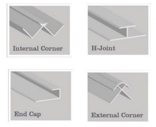 Hydropanel Extrusions - Various Colours